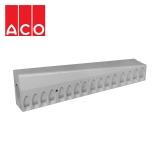ACO KerbDrain HB255 Half Battered Left Hand Drop Kerb - 1000mm