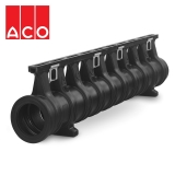 ACO Qmax 150 Slot Channel with Q-Flow Iron Edge Rail 2m