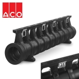 ACO Qmax 225 Slot Channel with Q-Guard Iron Edge Rail 2m