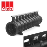 ACO Qmax 350 Slot Channel with Q-Guard Iron Edge Rail 2m