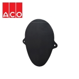 ACO Qmax 550 Slot Channel Closing End Cap