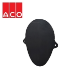 ACO Qmax 700 Slot Channel Closing End Cap