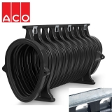 ACO Qmax 700 Slot Channel with Q-Slot Steel Edge Rail 2m