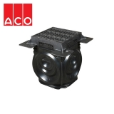 ACO Qmax Access Chamber with D400 Q-Slot Recessed Cover and Frame