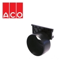 ACO Plastic Brickslot Outlet End Cap - A15