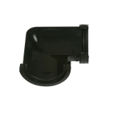 Cast Iron Style Half Round Guttering 112mm 90dg Angle - Black
