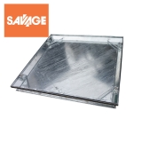 Double Sealed Recessed Manhole Cover and Frame 600mm x 450mm