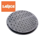 Plastic Access Manhole Cover and Frame 450mm Diameter - 35kN