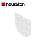Hauraton Faserfix KS150 Stainless Steel Channel Drain End Cap