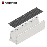 Hauraton Faserfix KS200 Channel & F900 Ductile Iron Slotted Grate - 1000mm