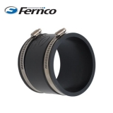 Fernco 445-415mm PVCu Drain and Sewer Pipe EPDM Straight Connector