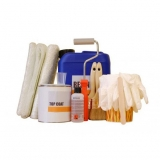 Fibreglass Roofing and Gutter Complete Kit with Tools - 2.5m2