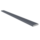 D Section Window Trim 28mm x 5m - Anthracite Grey Woodgrain