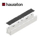 Hauraton Channel Drain Ductile Iron Grating 1m Faserfix KS100 - F900