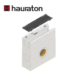 Hauraton Channel Drain Slotted Iron Grating Trash Box KS100 - F900