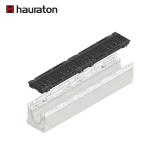 Hauraton Faserfix SUPER 100 F900 Channel & F900 Bolted Ductile Iron Slot Grating - 1000mm