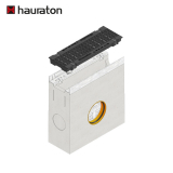 Hauraton Faserfix SUPER 100 Sump Unit & F900 Bolted Ductile Iron Slot Grating