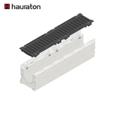 Hauraton Faserfix SUPER 150 F900 Channel & F900 Bolted Ductile Iron Gugi Mesh Grating - 1000mm