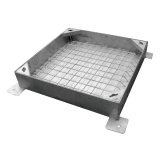 Double Sealed Recessed Heavy Duty Manhole Cover and Frame 600 x 600mm