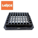 Cast Iron Square Mesh Hinged Pedestrian Grating 380 x 310mm - C250