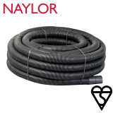 Naylor Kitemarked Perforated Land Drain Coil 100mm x 100m