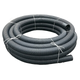 Solid Unperforated Land Drain Coil Pipe 100mm x 50m