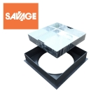 Recessed Manhole Cover & Frame for Block Paving - 450mm
