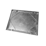 Wrekin Double Seal Recessed Manhole Cover & Frame 600mm x 450mm - 2.5 Tonne