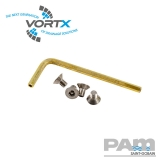 Cast Iron Gully Security Screws for Gratings and Rodding Eyes - Vortx