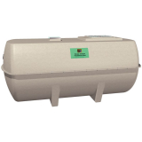 Marsh Ensign Low Profile Sewage Treatment Plant - 8 Person Tank
