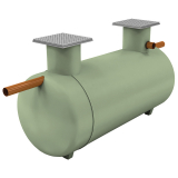 Clearwater Shallow Dig Septic Tank - 9150 litres