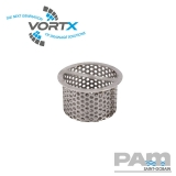 Cast Iron Shower Drain Removable Filter Basket - Vortx