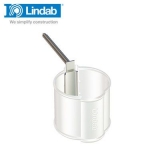 Lindab Round Spike for Pipe Holder 125mm Galvanised