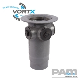 Cast Iron Gully S Trap Body Trapped 110mm Outlet - Vortx