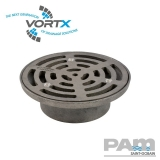 Cast Iron 150mm Circular Grating Direct Fit - Vortx